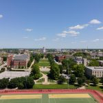 Drone aerial coverage of Stankowski Field