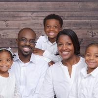 Drs. Dale and Janai Okorodudu and family
