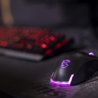 Picture of a keyboard and mouse for Mizzou Esports
