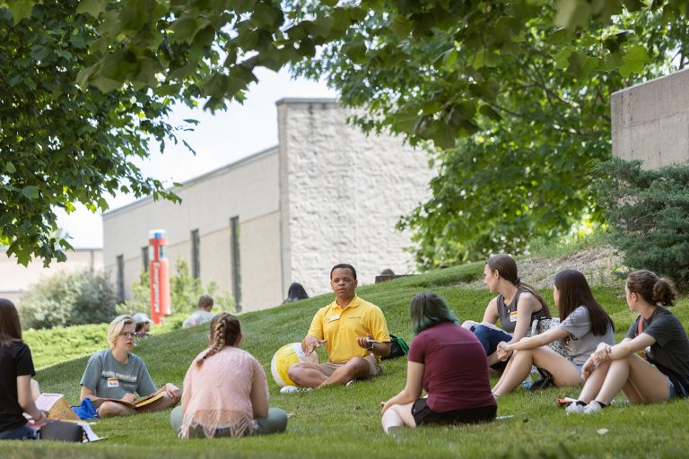 Incoming first year students at Mizzou Summer Welcome