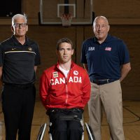 Dr. Stackman joined Collin Higgins and Ron Lykins before they headed to the Tokyo Paralympics.