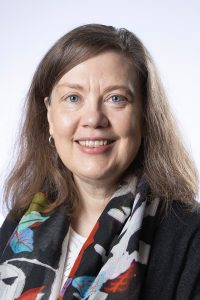 This is a picture of Donna Strickland